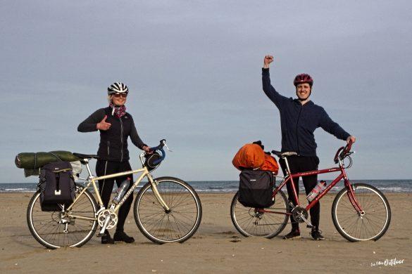 arrivée en vélo méditerranée