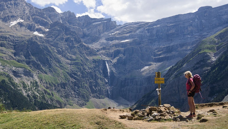 caro randonnée Pyrénées