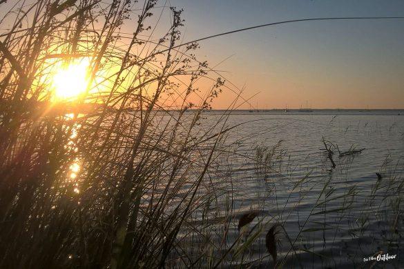 soleil lac d'hourtin/carcans