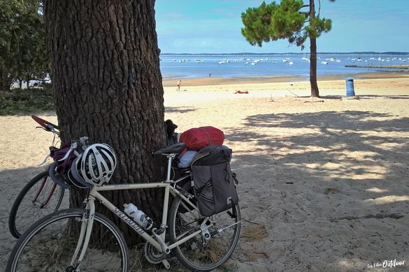 bassin d'arcachon vélo