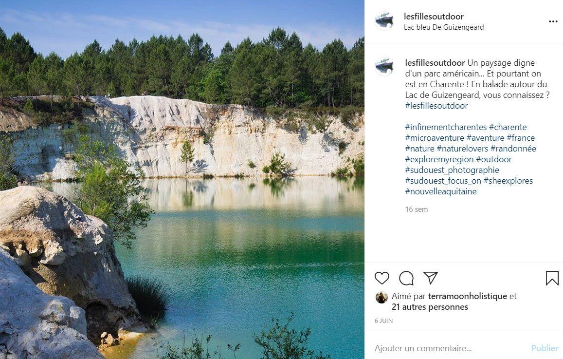 instagram lacs de guizengéard