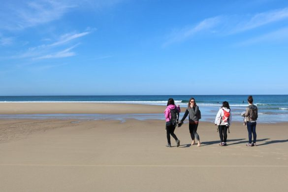 les filles outdoor océan