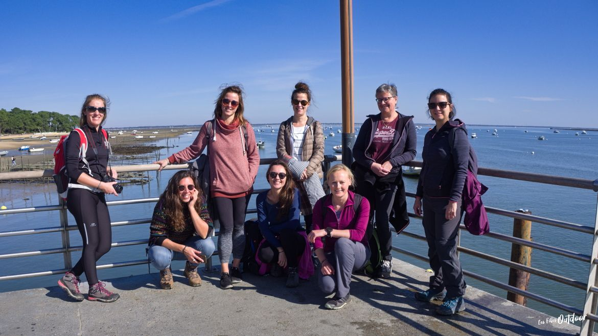 groupe les filles outdoor